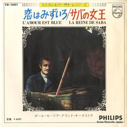MAURIAT, PAUL l'amour est bleu FD-1001 - front cover