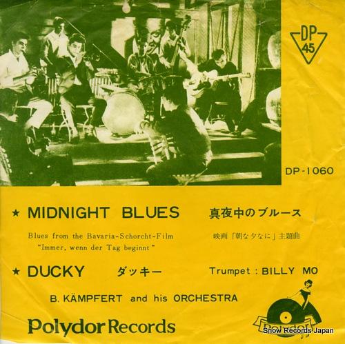 KAMPFERT, B. midnight blues DP-1060 - front cover