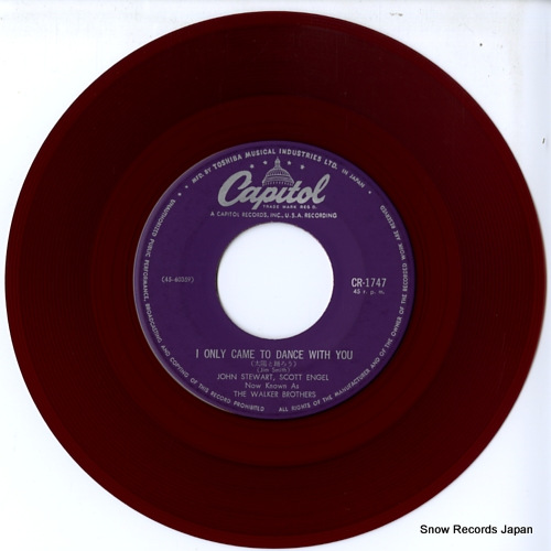 WALKER BROTHERS, THE i only came to dance with you CR-1747 - disc