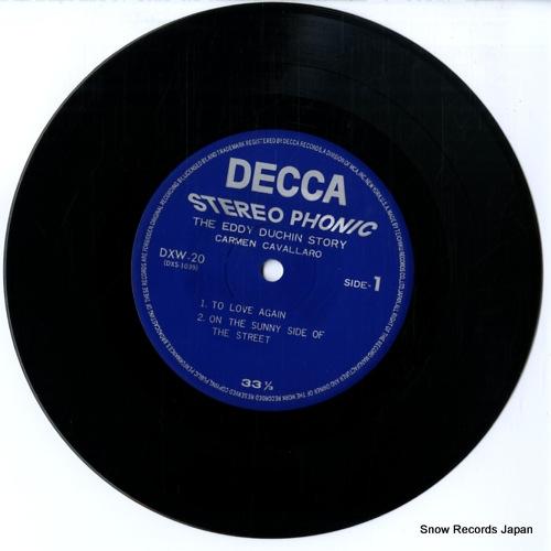 CAVALLARO, CARMEN the eddy duchin story DXW-20 - disc