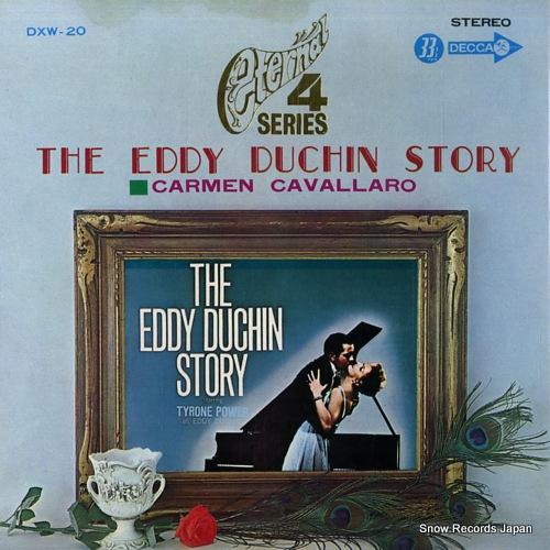 CAVALLARO, CARMEN the eddy duchin story DXW-20 - front cover