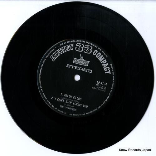 VENTURES, THE green fields LP-4134 - disc