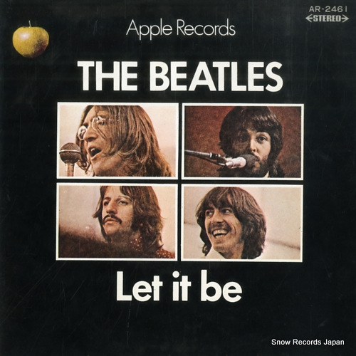BEATLES, THE let it be AR-2461 - front cover
