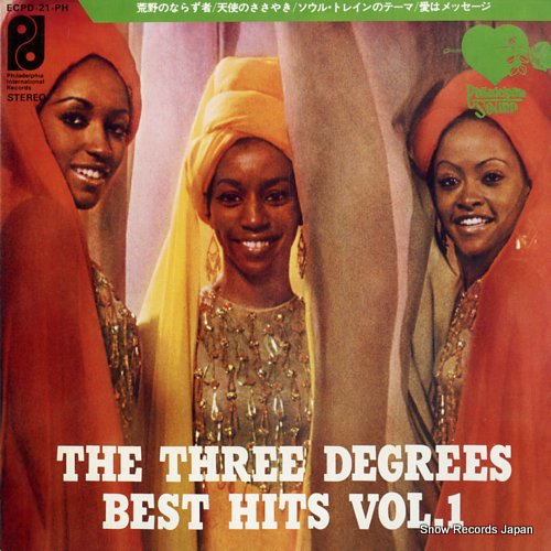 THREE DEGREES, THE best hits vol.1