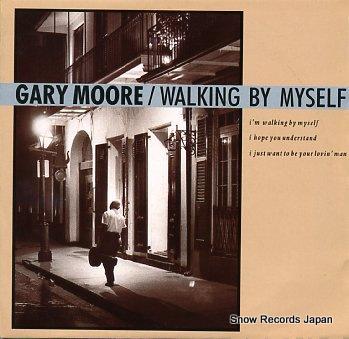 MOORE, GARY walking by myself