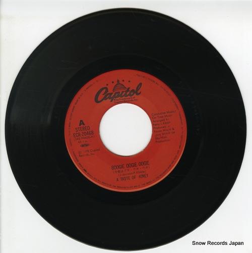 TASTE OF HONEY, A boogie oogie oogie ECR-20468 - disc