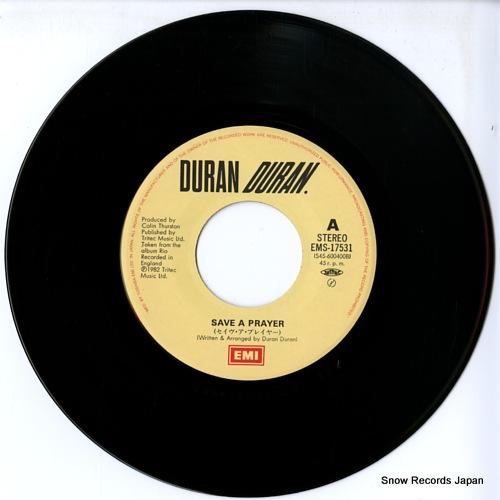 DURAN DURAN save a prayer EMS-17531 - disc