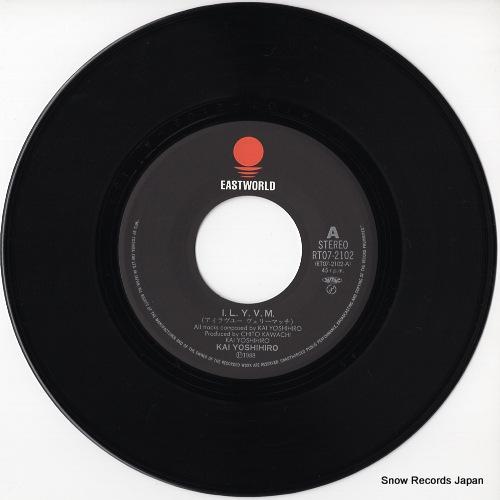 KAI, YOSHIHIRO i.l.y.v.m. RT07-2102 - disc