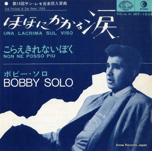 SOLO, BOBBY una lacrima sul viso HIT-1038 - front cover