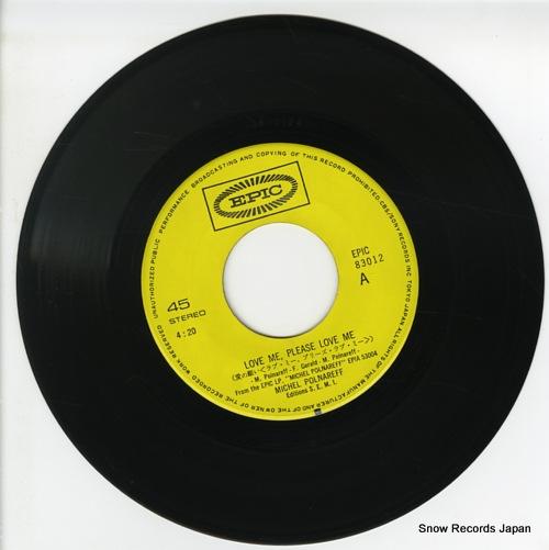 POLNAREFF, MICHEL love me, please love me EPIC83012 - disc