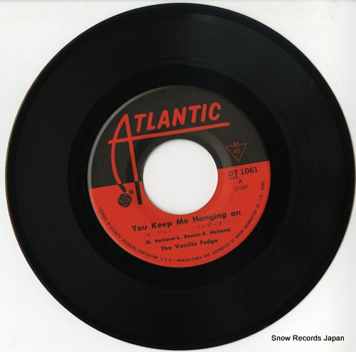 VANILLA FUDGE, THE you keep me hanging on DT-1061 - disc