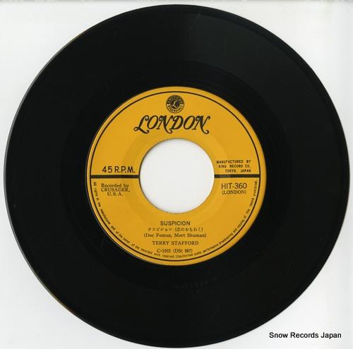 STAFFORD, TERRY suspicion HIT-360 - disc