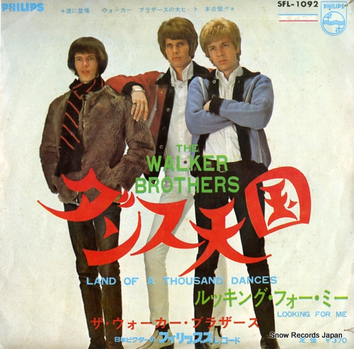 WALKER BROTHERS, THE land of a thousand dances SFL-1092 - front cover