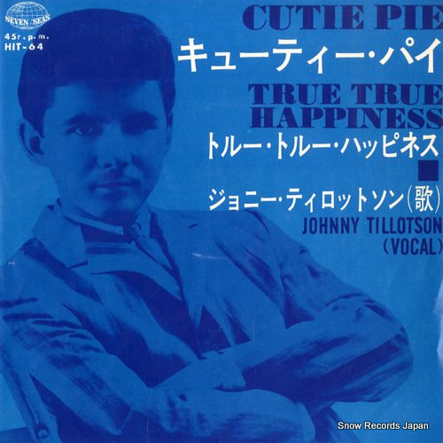TILLOTSON, JOHNNY cutie pie HIT-64 - front cover