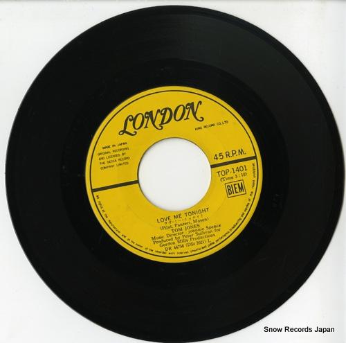 JONES, TOM love me tonight TOP-1401 - disc