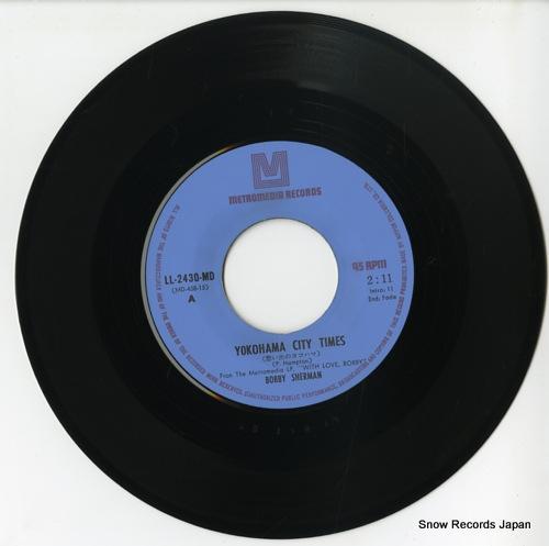 SHERMAN, BOBBY yokohama city times LL-2430-MD - disc
