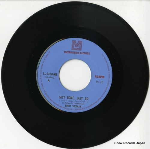 SHERMAN, BOBBY easy come, easy go LL-2350-MD - disc