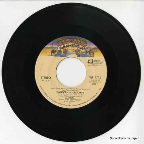 AMERICA california dreaming VIP-2733 - disc