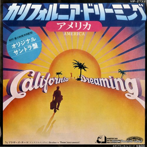 AMERICA california dreaming VIP-2733 - front cover