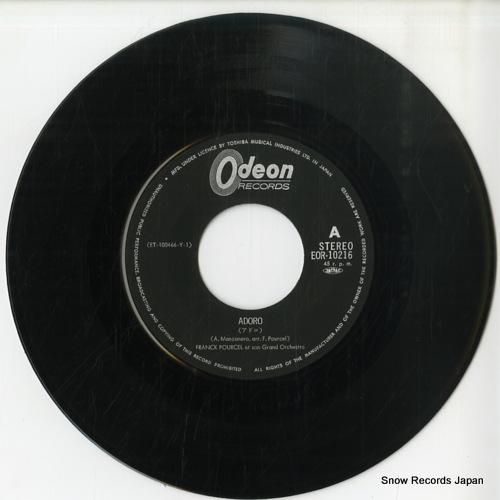 POURCEL, FRANCK adoro EOR-10216 - disc
