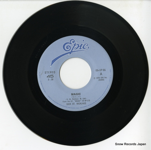 ST. NICKLAUS, DICK magic 06.5P-86 - disc