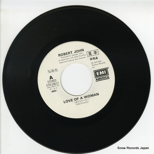 JOHN, ROBERT love of a woman EYR-20617 - disc