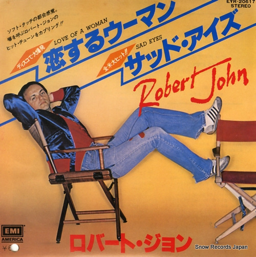 JOHN, ROBERT love of a woman EYR-20617 - front cover