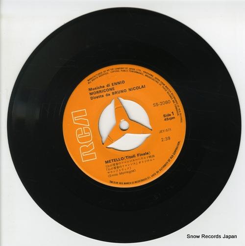 NICOLAI, BRUNO metello SS-2080 - disc