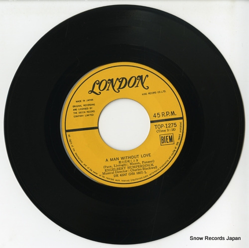 HUMPERDINCK, ENGELBERT a man without love TOP-1275 - disc