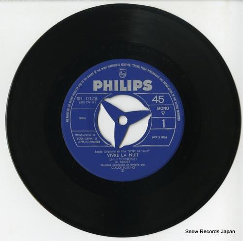 BOLLING, CLAUDE vivre la nuit SFL-1212(M) - disc