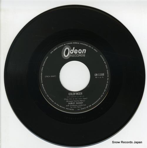 BASSEY, SHARLEY goldfinger OR-1188 - disc