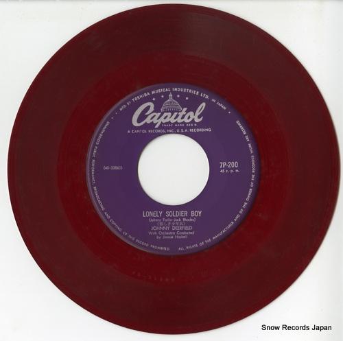 DEERFIELD, JOHNNY lonley soldier boy 7P-200 - disc