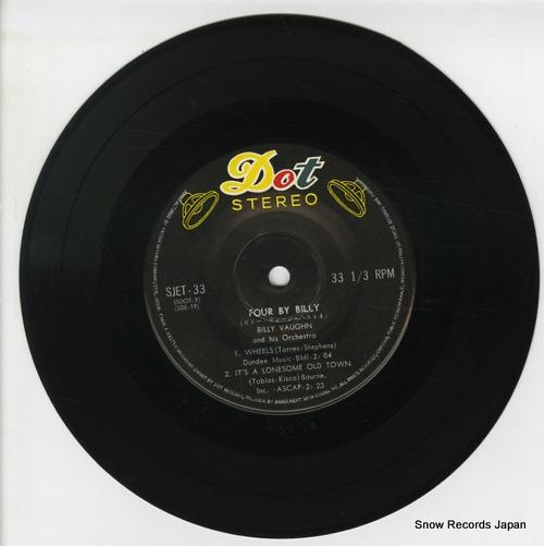 VAUGHN, BILLY four by billy SJET-33 - disc