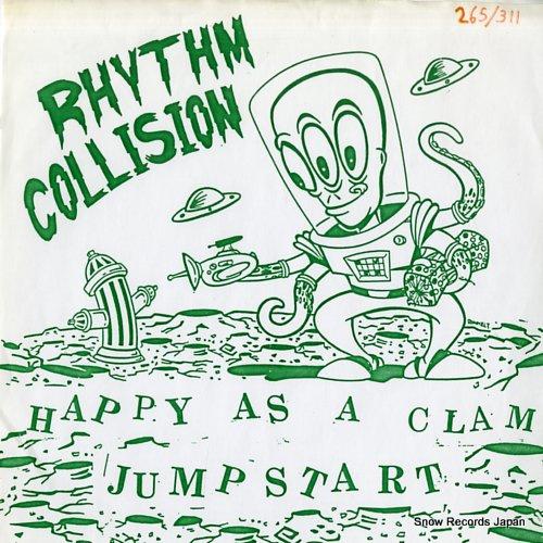 リズム・コリジョン/トラヴィス・カット happy as a clam / no good with words ATOM001