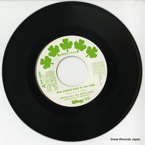 ポール・マッカトニーとウイングス - アイルランドに平和を - EAR ...