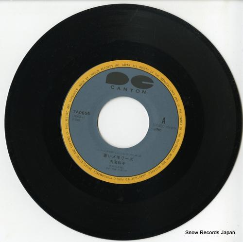 UTSUMI, KAZUKO aoi memories 7A0655 - disc