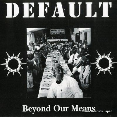 デフォルト beyond our means BCR014