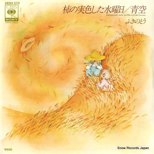 FUKINOTOU kaki no mi iroshita suiyoubi 06SH570 - front cover