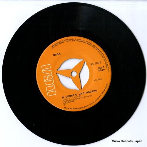 NADA il cuore e' uno zingaro(japanese version) SS-2099 - disc