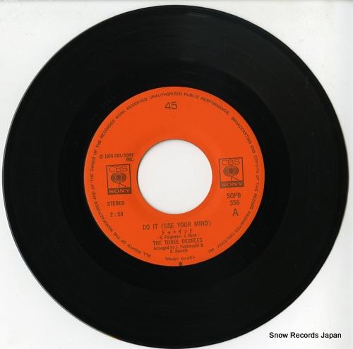 THREE DEGREES, THE do it! SOPB356 - disc
