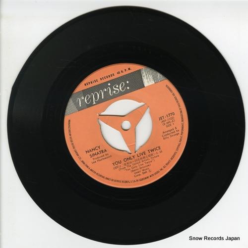 SINATRA, NANCY you only live twice JET-1770 - disc