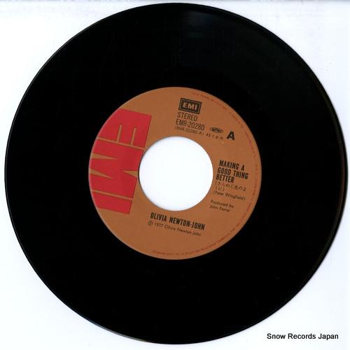 NEWTON-JOHN, OLIVIA making a good thing better EMR-20280 - disc