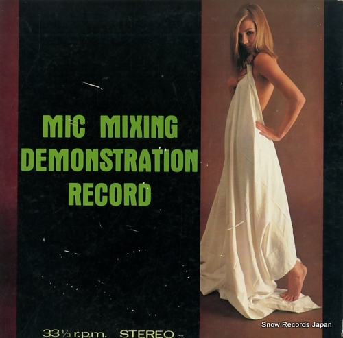ALLSTARS LEON mic mixing demonstration record