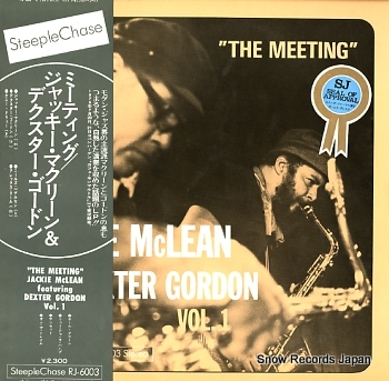 MCLEAN, JACKIE FEATURING DEXTER GORDON meeting, the