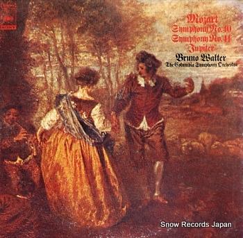 WALTER, BRUNO mozart; symphony no.40 no.41 jupiter