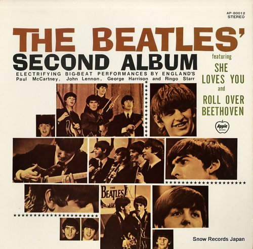 BEATLES, THE second album