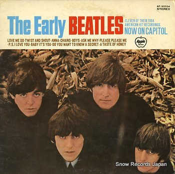 BEATLES, THE early beatles, the