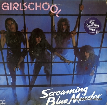 GIRLSCHOOL screaming blue murder