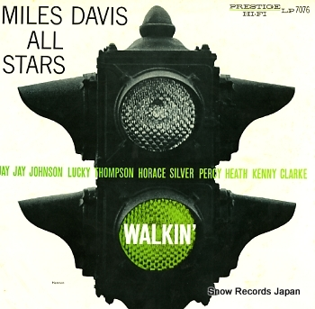 DAVIS, MILES walkin'