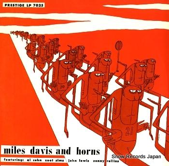 DAVIS, MILES miles davis and horns